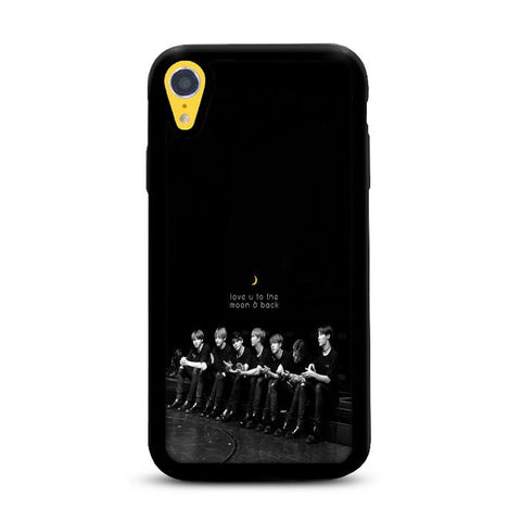 BTS Love You To The Moon and Back iPhone XR hoesjes