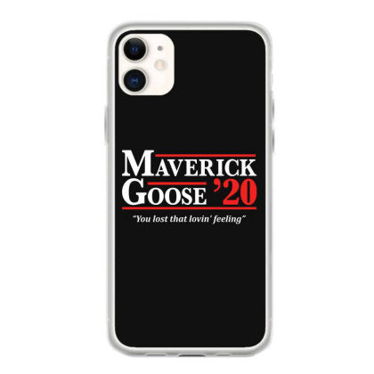 maverick and goose 2020 election iphone 11 hoesjes