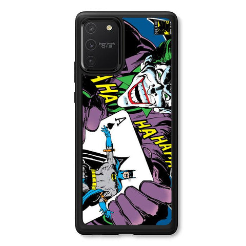 coque custodia cover fundas hoesjes j3 J5 J6 s20 s10 s9 s8 s7 s6 s5 plus edge B12181 Batman Joker Card J0603 Samsung Galaxy S10 Lite 2020 Case