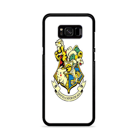 Harry Potter Pokemon Crossover Samsung Galaxy S8 Plus hoesjes
