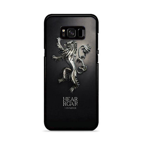 Hear Me Roar Lannister Game of Thrones Samsung Galaxy S8 Plus hoesjes
