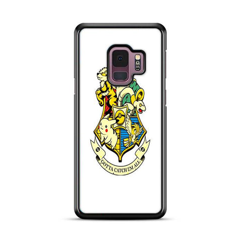 Harry Potter Pokemon Crossover Samsung Galaxy S9 Plus hoesjes