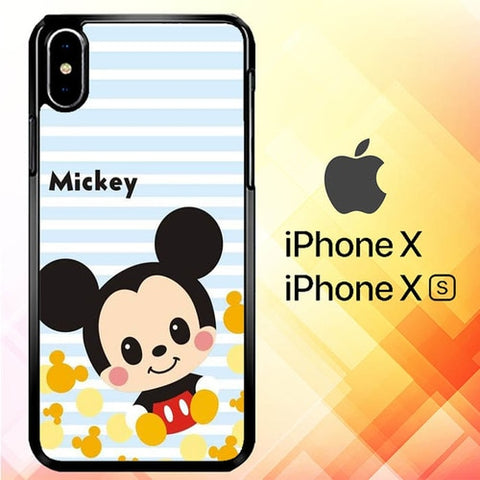 Mickey P1002 hoesjes iPhone X, XS