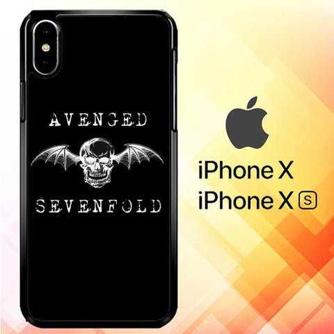 Avenged Sevenfold P1026 hoesjes iPhone X, XS