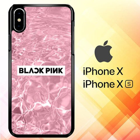 Blackpink In The Water P1097 hoesjes iPhone X, XS