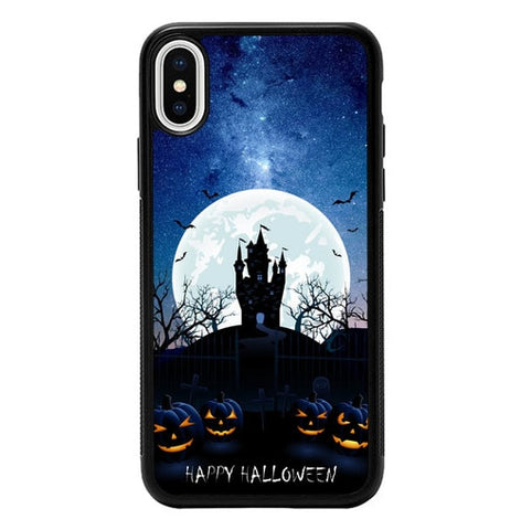 Happy Halloween P2001 hoesjes iPhone X, XS