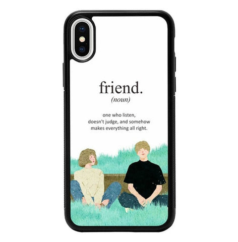 All About Friends P2004 hoesjes iPhone X, XS