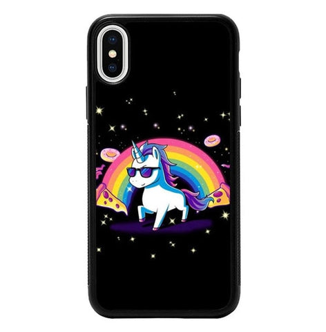 Unicorn Boy Cool P2011 hoesjes iPhone X, XS