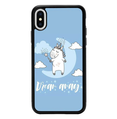 Dream Away Unicorn P2023 hoesjes iPhone X, XS