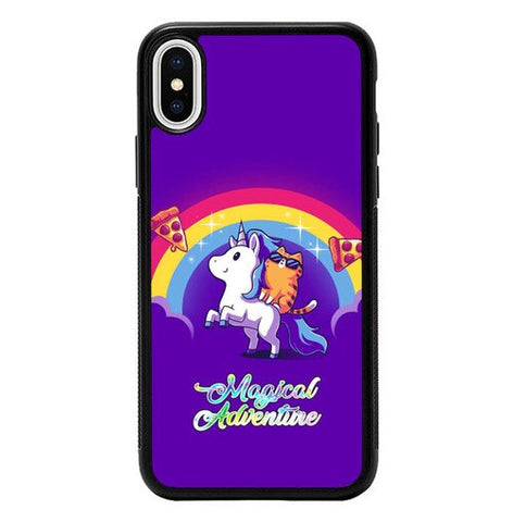 Magical Unicorn Adventure P2027 hoesjes iPhone X, XS