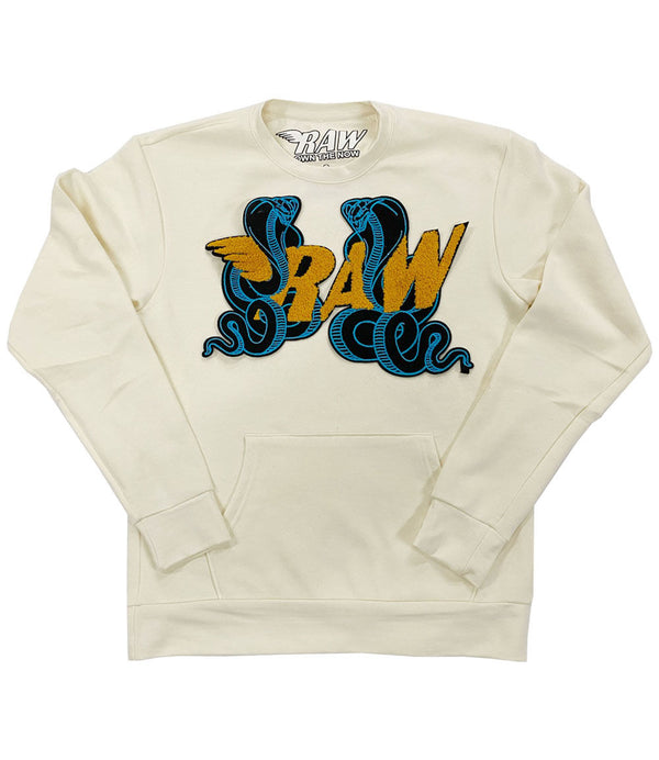 RAW Cobra Chenille Long Sleeves - Cream