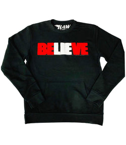 BELIEVE Chenille Long Sleeves