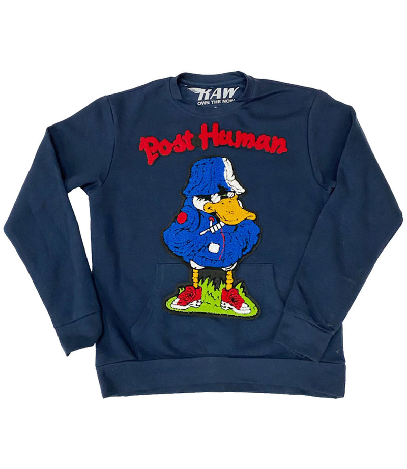 Duck Chenille Long Sleeves - Navy