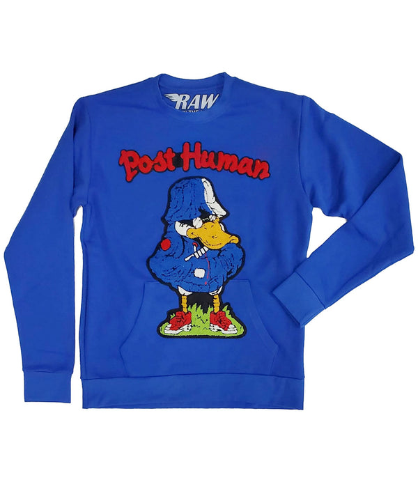 Duck Chenille Long Sleeves - Royal