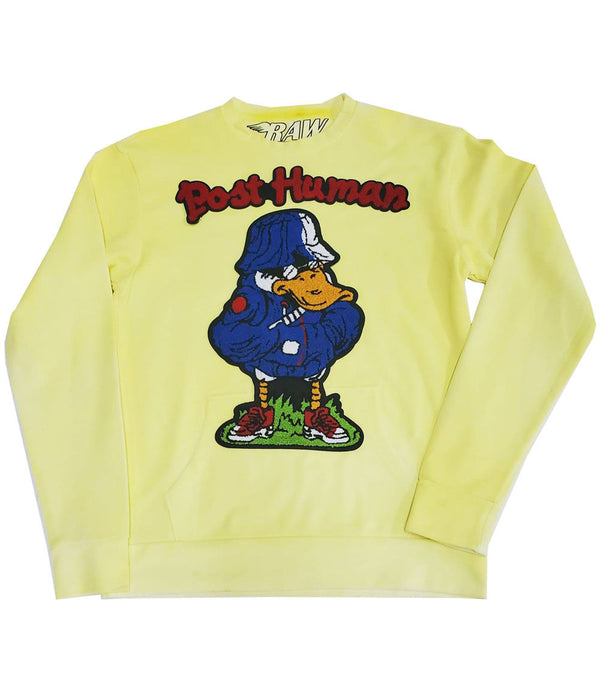 Duck Chenille Long Sleeves - Yellow Dye