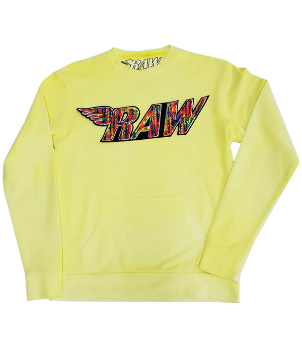 RAW Bel Air Chenille Long Sleeves - Yellow Dye