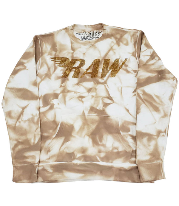 RAW Gold Bling Long Sleeves - Dye Khaki
