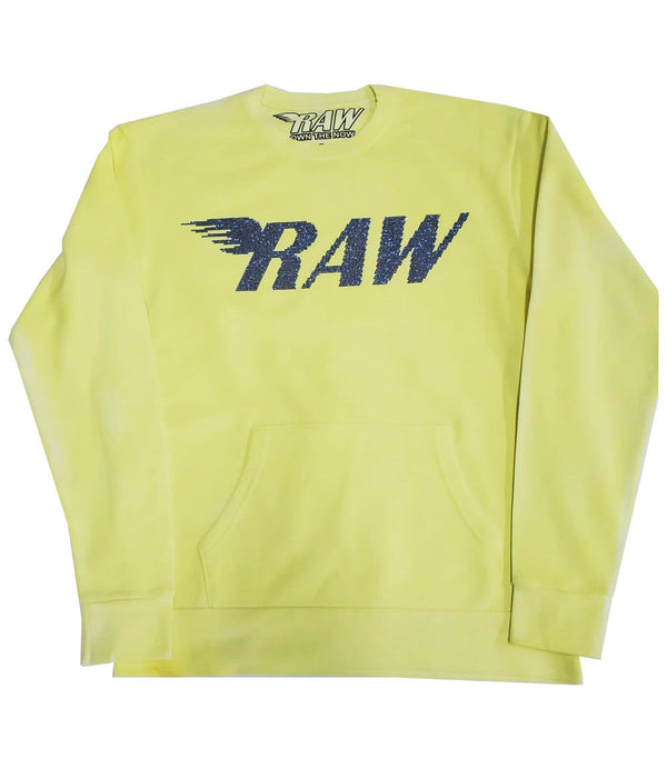 RAW Montana Bling Long Sleeves - Yellow Dye