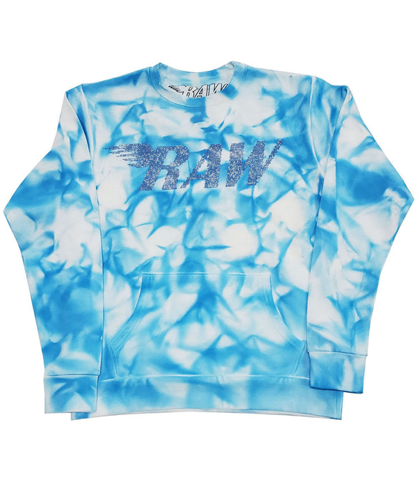 RAW Montana Bling Long Sleeves - Dye Blue