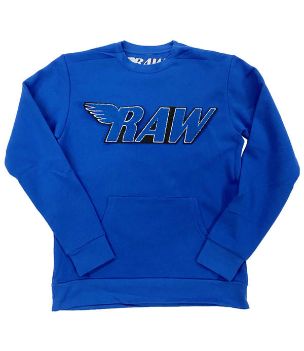 RAW Royal Chenille Long Sleeves - Royal