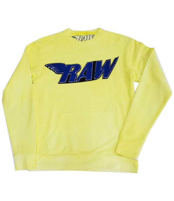RAW Royal Chenille Long Sleeves - Yellow Dye
