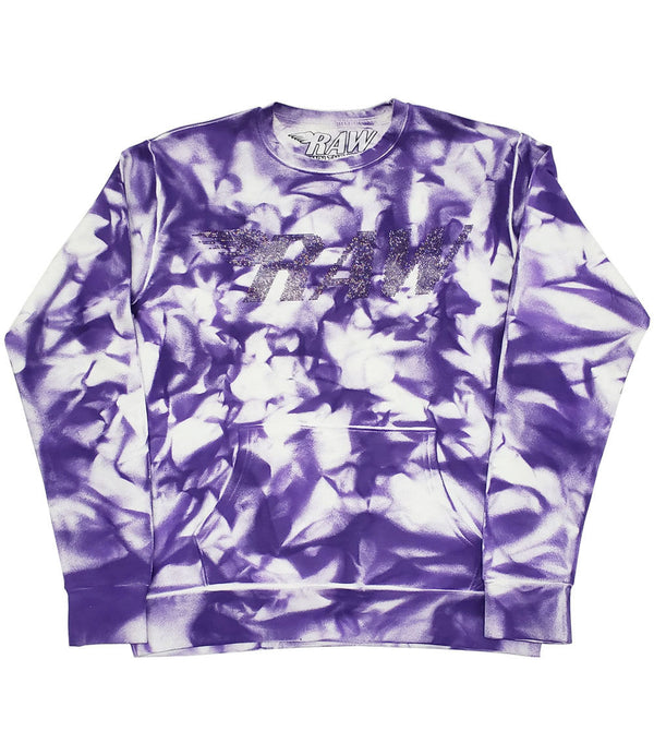 RAW Violet Bling Long Sleeves - Dye Purple