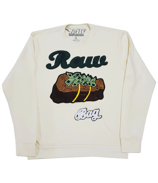 RAW Bag Chenille Long Sleeves - Cream