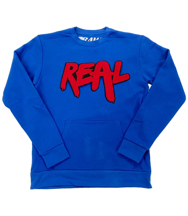 Real Red Chenille Long Sleeves - Royal