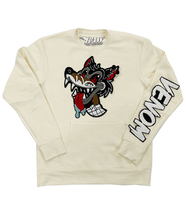 Wolf Venom Chenille Long Sleeves - Cream