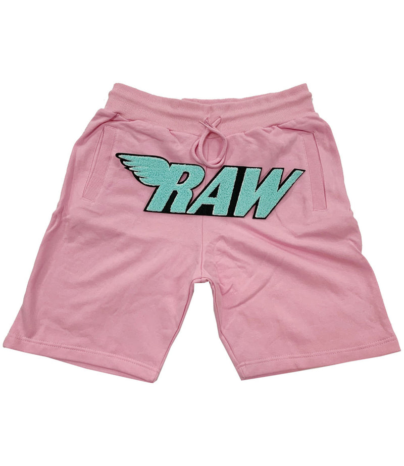RAW Aqua Chenille Cotton Shorts