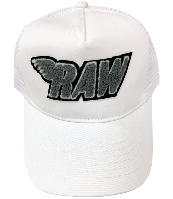 RAW Grey Chenille Hat