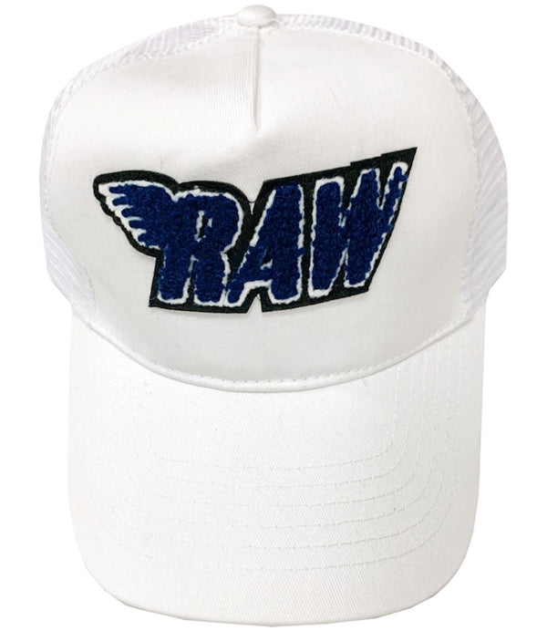 RAW Midnight Navy Chenille Hat