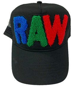 RAW Multi Chenille Hat