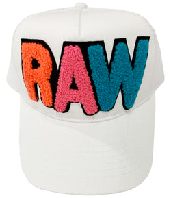 RAW Multi Neon Chenille Hat
