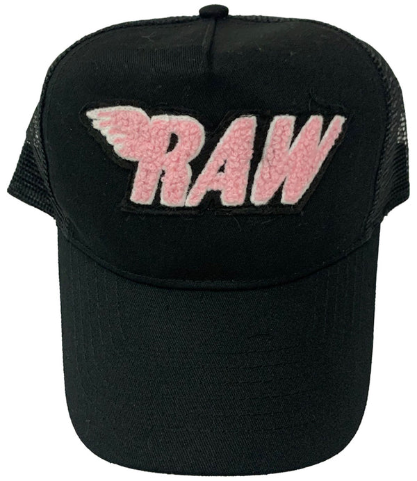 RAW Pink Chenille Hat