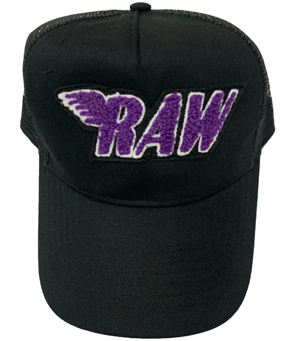 RAW Purple Chenille Hat