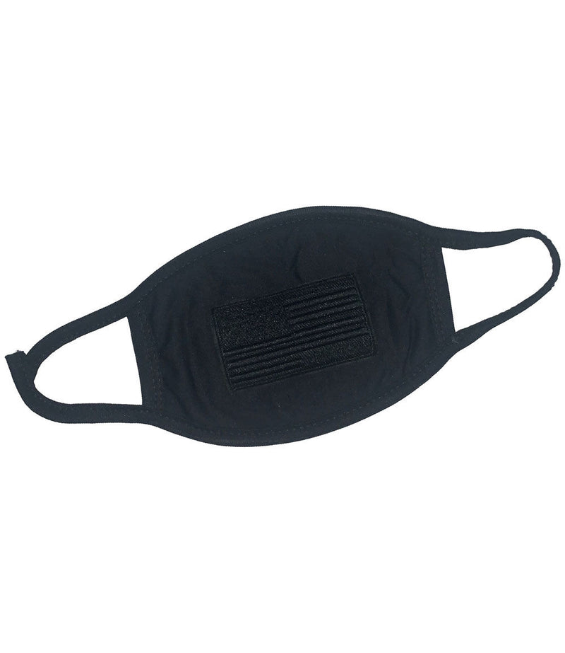 Black Flag Patch Washable Reusable Face Mask