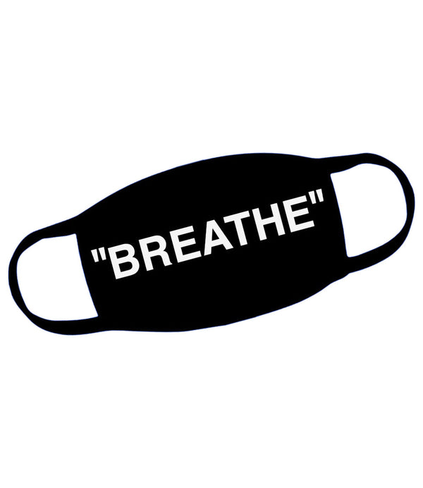 Breath Print Washable Reusable Face Mask