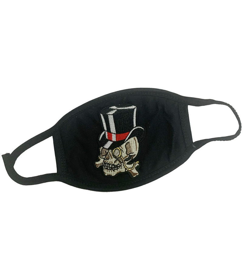 Hat Skull Patch Washable Reusable Face Mask
