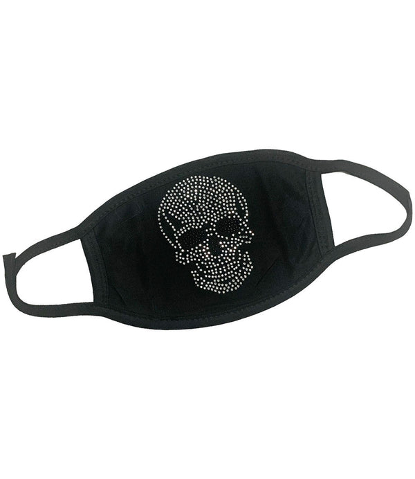 Skull Bling Washable Reusable Face Mask