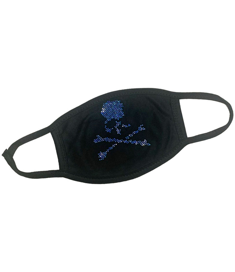 Skull Bones Royal Bling Washable Reusable Face Mask