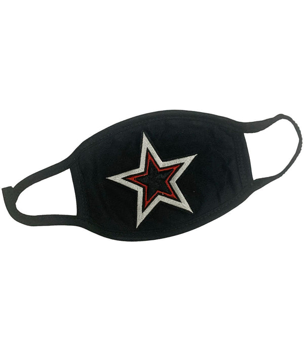 Star Patch Washable Reusable Face Mask