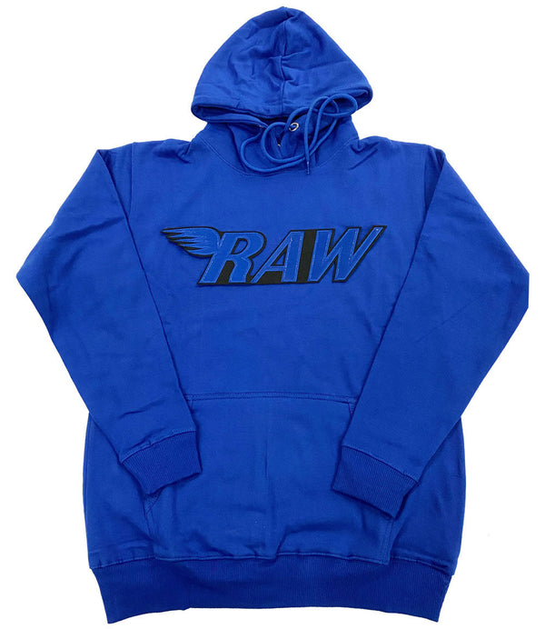 RAW PU Royal Hoodie - Royal