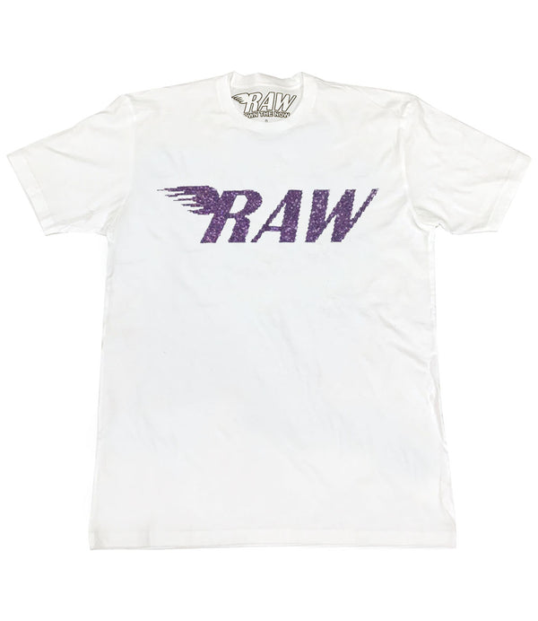 RAW Violet Bling Crew Neck