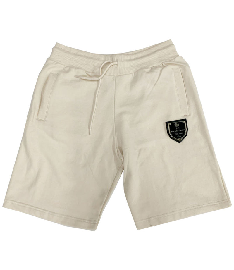 RC Badge Cotton Shorts