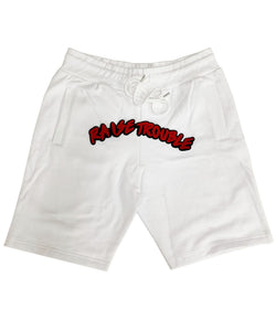Raise Trouble Chenille Cotton Shorts
