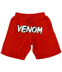 Venom Chenille Cotton Shorts