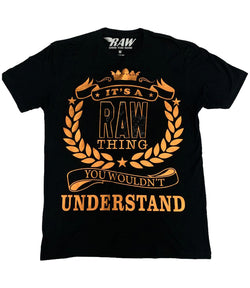 RAW Thing Copper Bling Crew Neck