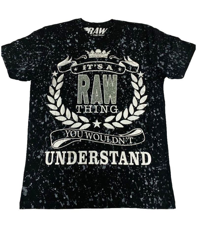 RAW Thing Silver Bling Crew Neck