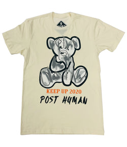 Post Human Teddy Print Crew Neck